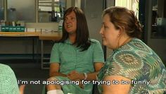 """""""ja mie gets it"""" - When someone agrees with Ja'mie King in a Pinterest description."""