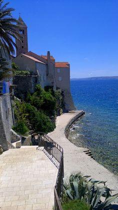 Westseite von Rab - Insel Rab , Croatia