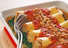 Cannelloni mit Ricottafüllung