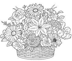 nature :: basket bouquet image by tharens - Photobucket