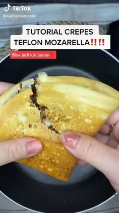 Sweet Crepes Recipe, Snack Recipes, Cooking Recipes, Easy Cooking, Diy Food, Food Videos, Food And Drink, Yummy Food, Random
