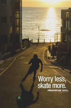 Worry less, skate more. Powerslide Swell Fitness Inline Skates www.powerslide.com www.swell.powerslide.com #swellskates #powerslide #inlineskating #fitness #welovetoskate #workout #fit #shape #happy #heathy