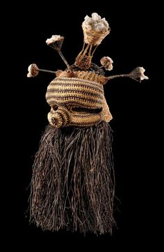 "Africa | Mask ""idangani"" from the Salampasu people of DR Congo 
