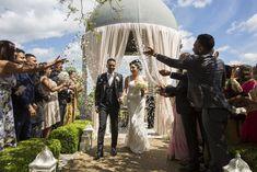 Palvi Makwana and Viran Pabari tied the knot at Froyle Park in Alton. Civil Ceremony, Wedding Ceremony, Gold Wedding, Wedding Day, My Childhood Friend, Wedding Confetti, Ballrooms, Tie The Knots, Maid Of Honor