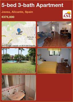 5-bed 3-bath Apartment in Javea, Alicante, Spain ►€375,000 #PropertyForSaleInSpain