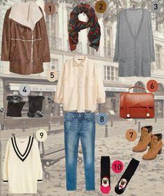 fc176b62f043 La top ten fashion della squattrinata La redazione di Melarossa ti propone  un look femminile a prova di freddo e di portafoglio!