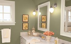 Bathroom paint colour