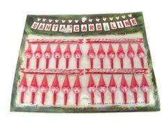 Vintage Christmas Decoration, 1970's Hanging Christmas Card Line, Card Clothes Line. Christmas Kitsch, 1970's Christmas Decor, Mid Century by ThirstyOwlVintage on Etsy https://www.etsy.com/listing/201188131/vintage-christmas-decoration-1970s