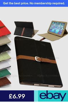 iPad Air Luxury Leather Flip Belt Buckle Stand Case Smart Cover for Apple  iPad 5 b5acc9e7fbf8a