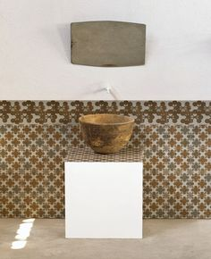 Modern Tile Designs by Patricia Urquiola Bring Digital Printing into Modern Interiors Patricia Urquiola, Cement Tiles Bathroom, Laundry In Bathroom, Mosaic Tiles, Modern Interior, Interior Architecture, Interior Design, Bath Design, Tile Design