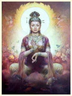 Quan Yin, Earth Angel of Mercy.