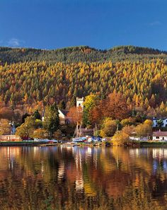 Kenmore on Loch Tay - One of my favourite places in the world, and the perfect spot for my dream home.