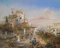 Robert Alott (Austrian, 1850-1910), Southern Capriccio [1891] |