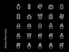 Free Icons - Cactus Plants