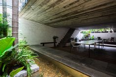 NISHIZAWAARCHITECTS fills its own office in vietnam with lush greenery