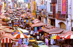 The vivid and vibrant colours of Chinatown, Kuala Lumpur  http://www.travelnation.co.uk/asia/