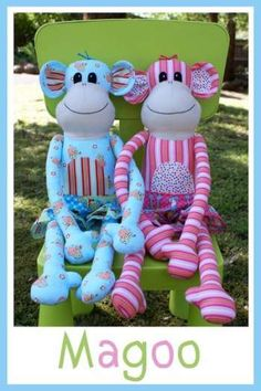 Magoo - by Melly & Me - Doll Pattern.