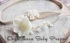 Tieback, Baby Girl Tieback, Newborn Tieback, Children Tieback, Baby Tieback, Newborn Photo Prop, Baby Photo Prop, Children Photo Prop, Flower Tieback, Pearl Tieback, Cream Tieback Share this item or shop and get 20% off your order. Share on Facebook or Pinterest, or other social
