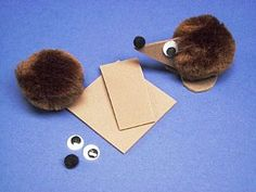 Hedgehog Crafty Bug Kits - Makes 100, Olympics 2012 and Special Occasions Crafts, Autumn Crafts for Kids, kids crafts, childrens crafts, children's craft supplies, crafts for kids