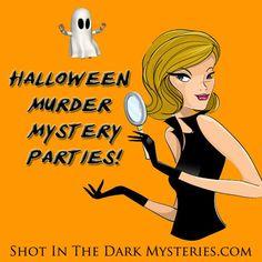 Halloween Murder Mystery Party Games #halloweenpartygames