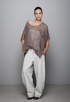 Patternless sewing - sheer top