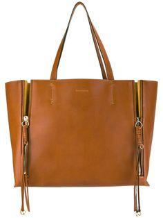 Shop Chloé Milo tote bag.