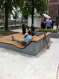 AECCafe.com - ArchShowcase - Lange Schipstraat and Lekkernijstraatje in Mechelen, Belgium by OKRA Landscape Architects