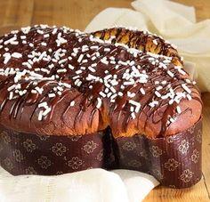 Colomba Pascal de Chocolate - Máquina de Pão