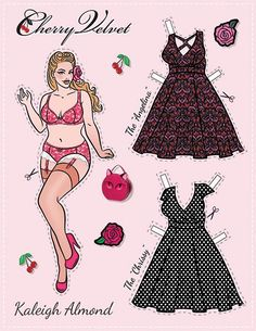 Here in the office of Cherry Velvet, we are always working onillustrations of ournewest dresses. One day while taking a trip down memory lane, all the girls s