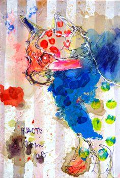 Naoto Kimura | 10888 見えない優しさにひかれてく 孔雀|30000枚描いたら世界へ -北村直登-