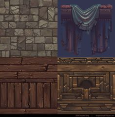 UDK dungeon environment and lovely hand painted textures - Sayanora - Polycount