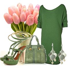 """""""Green Again ..."""" by dalmatinka on Polyvore"""