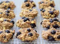 Banana Blueberry Cookies - Gluten free and Dairy free