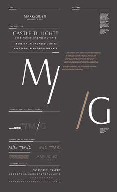 Mark/Giusti Brand Development by Nour S. Kanafani, via Behance