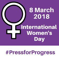 Happy International Women's Day everyone 😄
