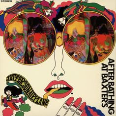 Japanese release of Jefferson Airplane's After Bathing at Baxter's Keiichi Tanaami 1967