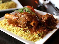 Damet Bamya (Okra Stew) at Home Town Sudanese & African Cuisine