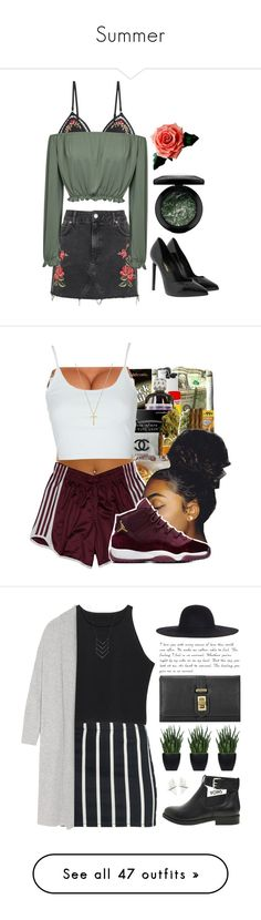 """""""Summer"""" by emily-dodson ❤ liked on Polyvore featuring tops, crop tops, shirts, underwear, crop shirt, cut-out crop tops, american retro, crop top, shirt top and Zimmermann"""