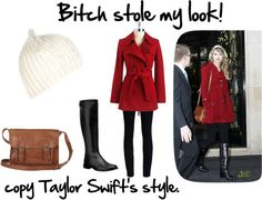"""""""Taylor Swift's Cute Style"""" by leklink on Polyvore"""
