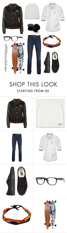 """Untitled #114"" by ohhhifyouonlyknew ❤ liked on Polyvore featuring Full Tilt, Neff, AllSaints, Abercrombie & Fitch, Vans, Ray-Ban, Arbor, vans, my style and awesome"