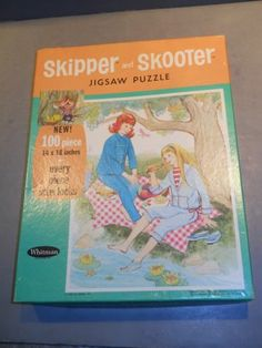 Vintage Whitman Skipper and Skooter Jigsaw Puzzle