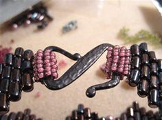 In search of the perfect clasp - from Jean Campbell.  A picture is worth a thousand words.   #Seed #Bead #Tutorial