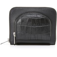 Alexander Wang Compact Coin Pouch ($295) ❤ liked on Polyvore featuring bags, wallets, coin pouch, coin purse wallets, coin pouch wallet, alexander wang and alexander wang bag