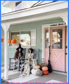 has two pals named Jane Bones Jovi and Jerry Spinefield 💀 We really like to see your halloween decorations! Tag us in your shots if your porch or house is festive and completely ready for the weekend 👻🎃 .⠀⠀⠀ .⠀ .⠀⠀⠀ .⠀ – awesome #clever halloween decorations, #halloween costimes, #halloween fun decorations, #halloween outsid […]   #DiyHalloweenHomeDecor, #DyHalloweenDecor, #HalloweenDecorationDecoracion, #Hallo
