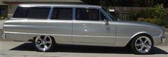 Silver 2 Dr Ford Falcon Wagon