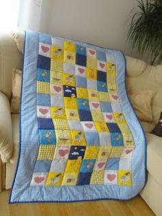 Одеяло детское Стежка ручная