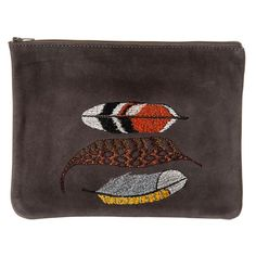 Tracey Tanner AND Coral & Tusk collaboration// Large zip pouch