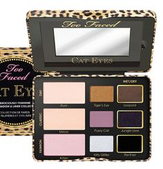 Too Faced Fall 2014 Launches : Cat Eyes Shadow Palette. Yep, I've found my next mini-obsession.