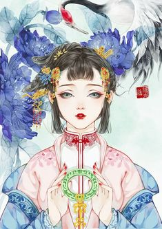 """Extremely romantic novels you should read this weekend, """"The Adventure of Holy Beast Bai Xiaoli"""" ❤❤ Writing Fantasy, Fantasy Art, Fantasy Books, Manga, Character Art, Character Design, Chinese Drawings, Chinese Cartoon, Background Drawing"""