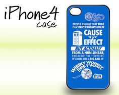 Dr Who cause to effect Police Box iphone